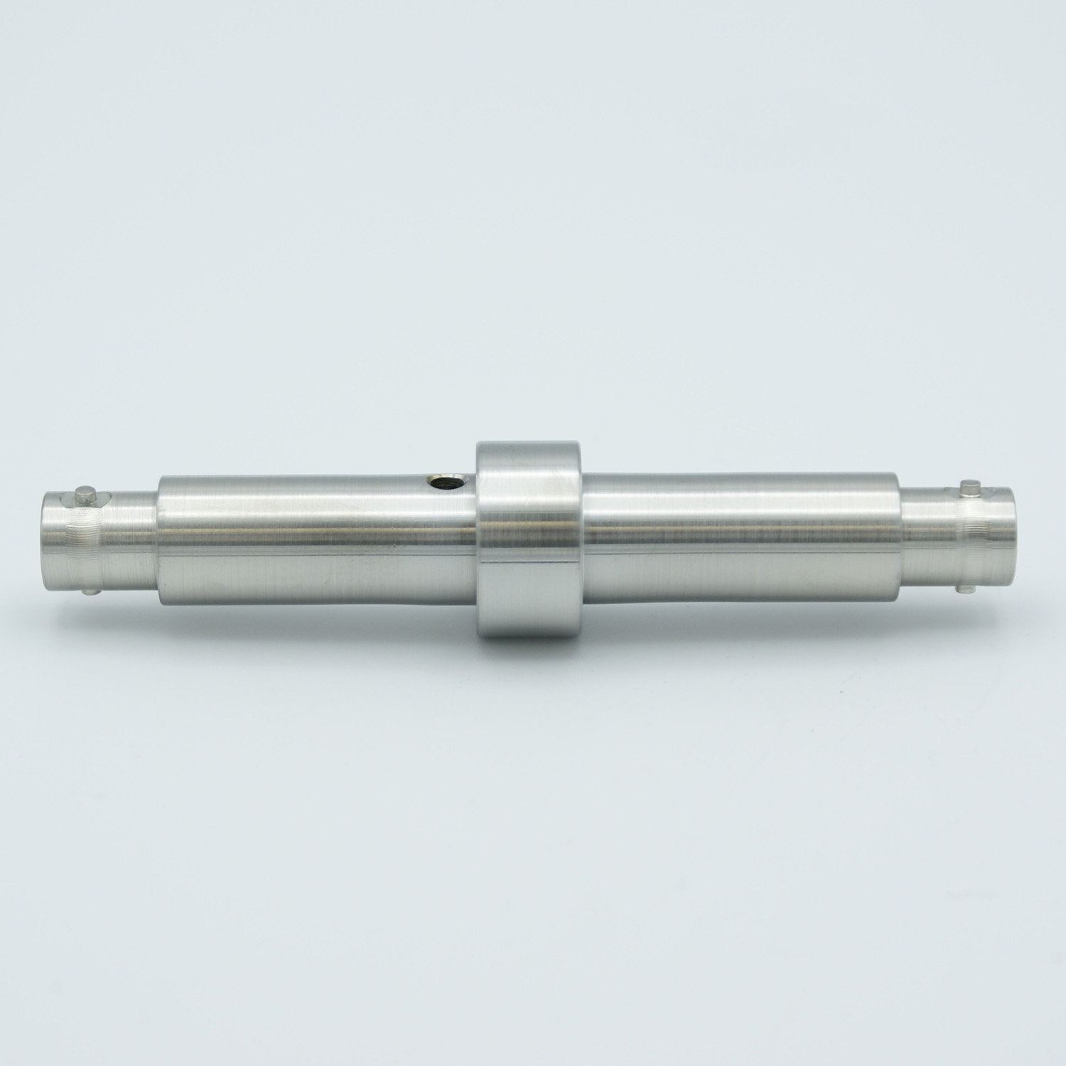 Grounded shield, double ended MHV feedthrough, weld fitting, without air side connector