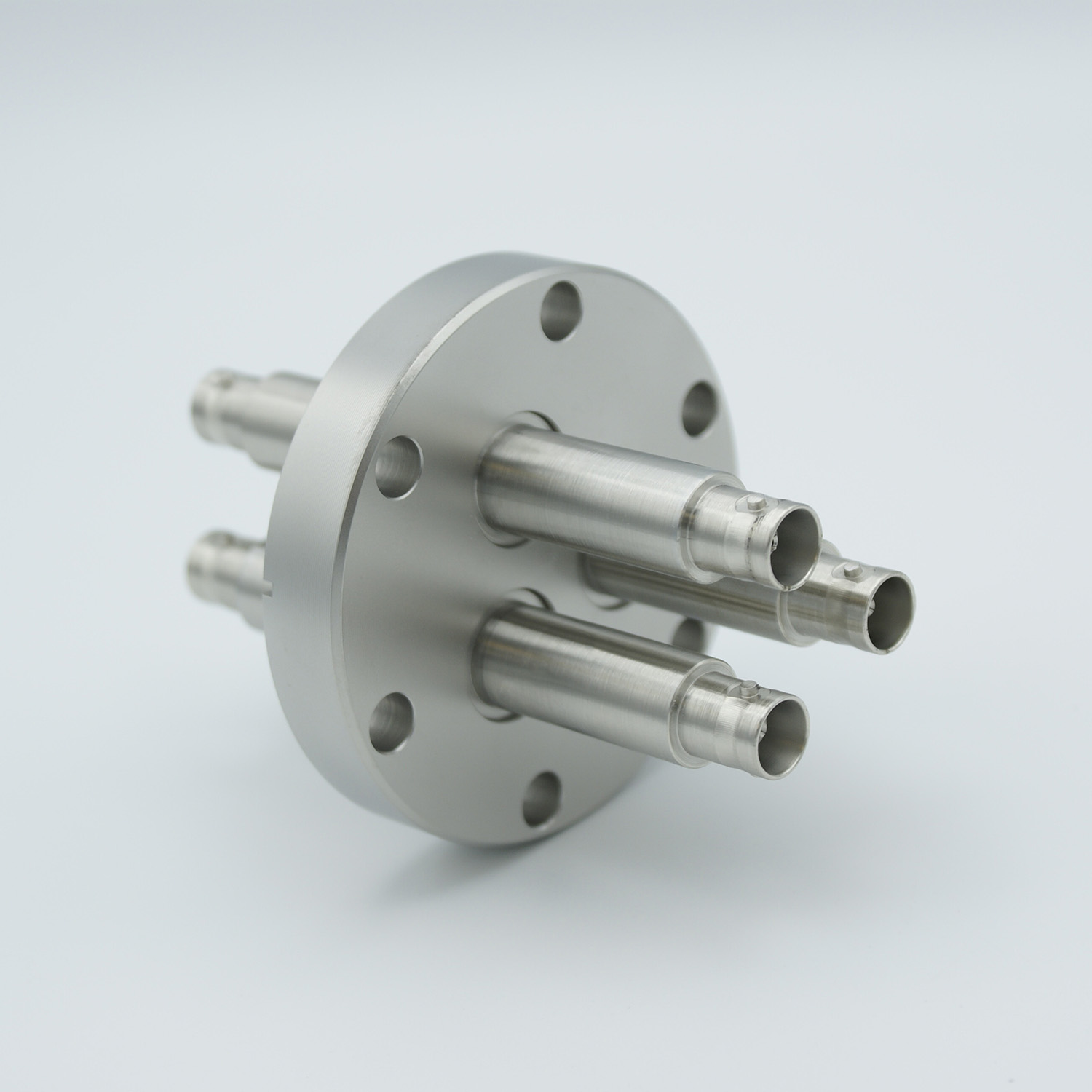 3 of grounded shield, double ended MHV feedthrough 5000V / 3 Amp, air side connector included, DN40CF