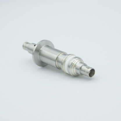 Floating shield, double ended MHV feedthrough 5000V / 3 Amp, air side connector included, DN16KF