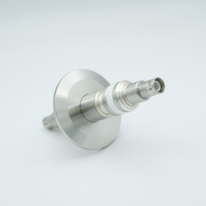 Floating shield, double ended SHV-5 feedthrough 5000V 3 Amp, air side connector included, DN40KF