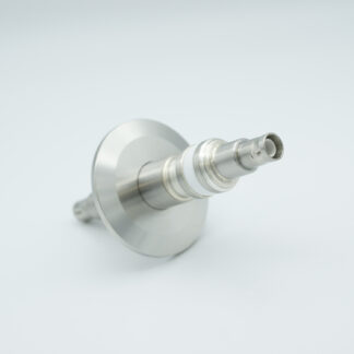 Floating shield, double ended SHV-5 feedthrough 5000V 3 Amp, DN40KF without air side connector