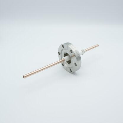 1 pin RF-feedthrough 8000Volt / 10 kW, DN40CF flange
