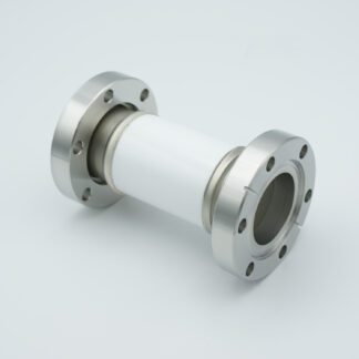 High Voltage insulator 30000V, DN40CF flange
