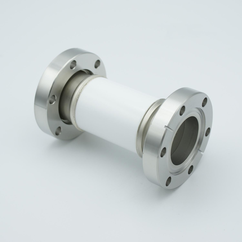 High Voltage insulator 30000V, DN40CF flange
