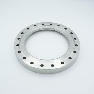 Zero length fused Silica viewport ultraviolet, DN150CF