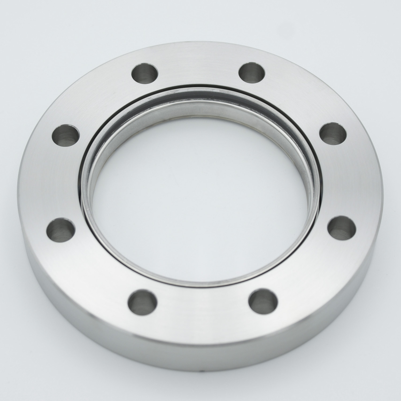 Zero length fused Silica viewport Excimer ultraviolet, DN63CF