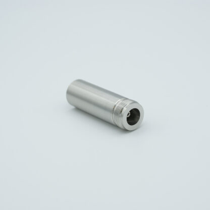 Type-N feedthrough single ended 500VDC, / 3 Amp, air side connector included weld fitting
