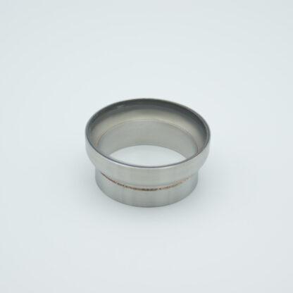 "Fused Silica viewport deep ultraviolet 1.37"" view diameter and 1.5"" diameter Stainless steel weld adapter"