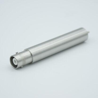 Grounded shield exposed SHV-20, 15 Amp 20000 VDC feedthrough, weld fitting
