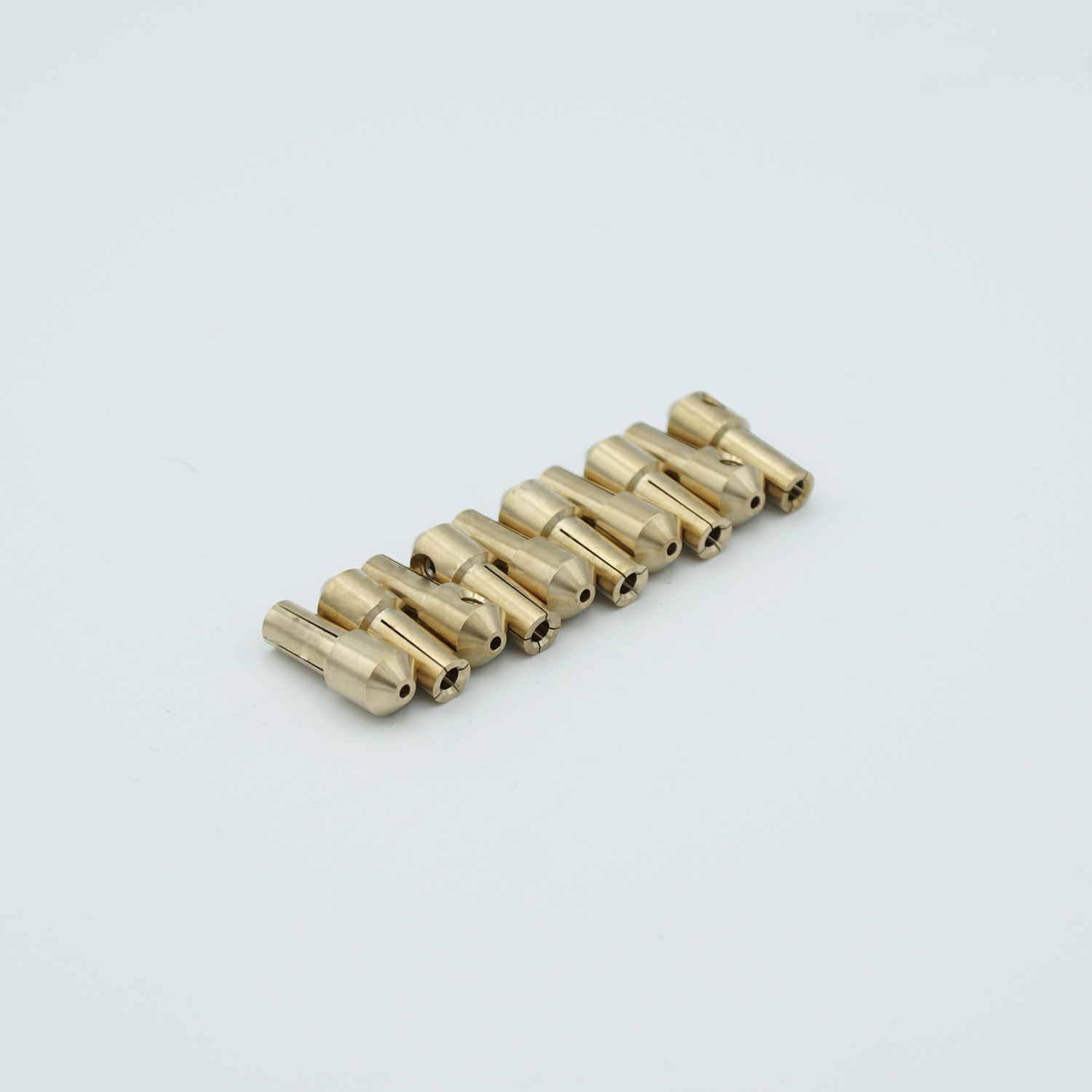 Power push-on connectors for pin size 0,04