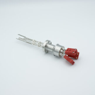 3 pair Thermocouple type-C feedthrough with both side connectors included, DN19CF flange