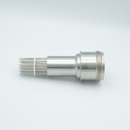 35 pin feedthrough with air-side connector 700Volt / 10 Amp. weld fitting