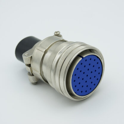 "MS series air-side connector, 35 pins, 700 Volts, 10 Amp per pin, accepts 0.056"" or 0.062"" dia pins"