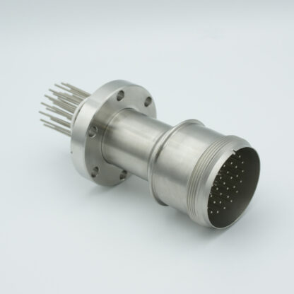35 pin feedthrough with air-side connector 700Volt / 10 Amp. DN40CF flange