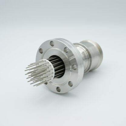 35 pin feedthrough with air-side connector 700Volt / 10 Amp. DN50CF flange