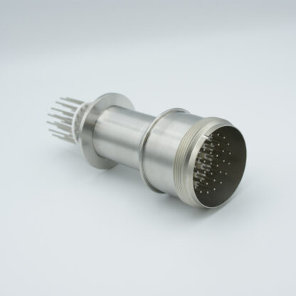 35 pin feedthrough with air-side connector 700Volt / 10 Amp. DN40KF flange