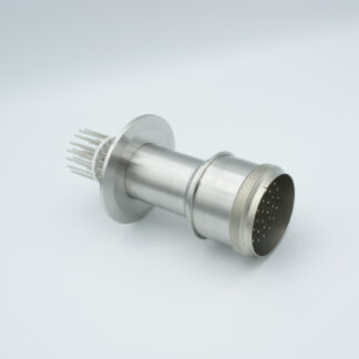 35 pin feedthrough with air-side connector 700Volt / 10 Amp. DN50KF flange