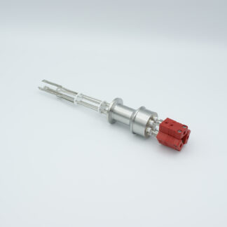3 pair Thermocouple type-C feedthrough with both side connectors included, DN16KF flange