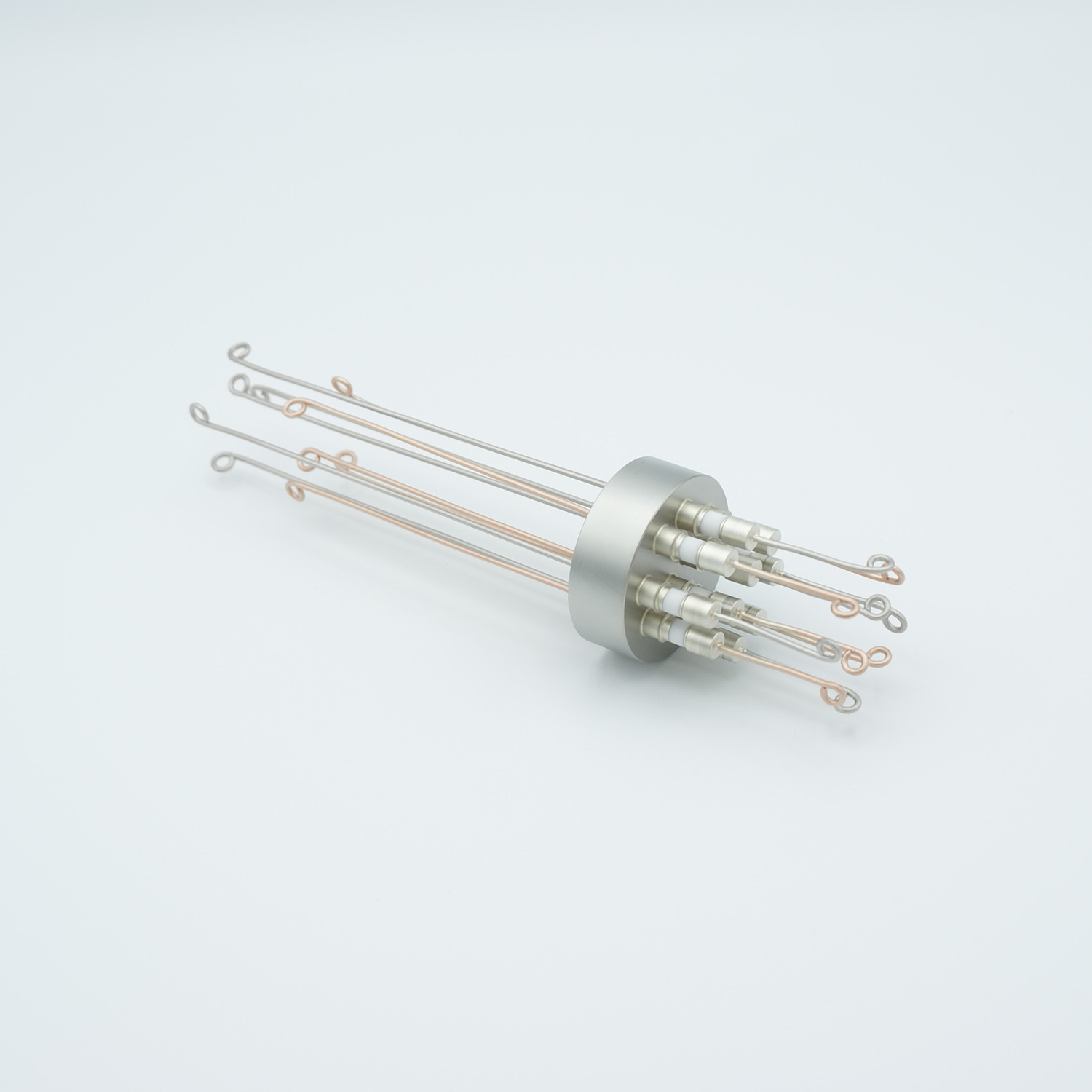 5 pair Thermocouple type-T feedthrough with both side connectors included, weld fitting