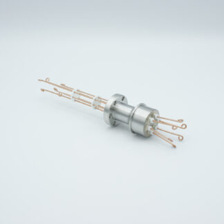3 pair Thermocouple type-R or S feedthrough with both side connectors included, DN19CF flange