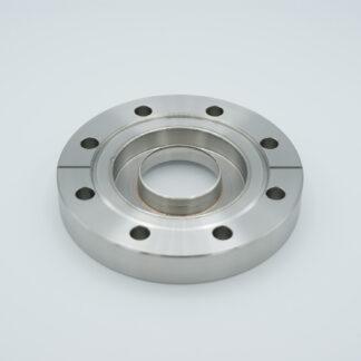 "Zero length REG-grade Sapphire 1,52"" view diameter, DN63CF"