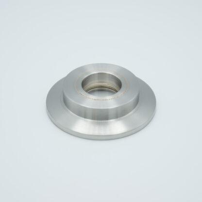 "Tubulated UV-grade Sapphire 0,6"" view diameter, DN16KF"