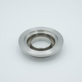 "Tubulated UV-grade Sapphire 1,02"" view diameter, DN40KF"