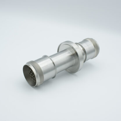 20 pin double ended feedthrough 700Volt / 10 Amp, DN100ISO-K flange