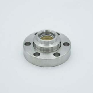 Zinc Selenide viewport (AR coated 8-12 micron), DN19CF flange