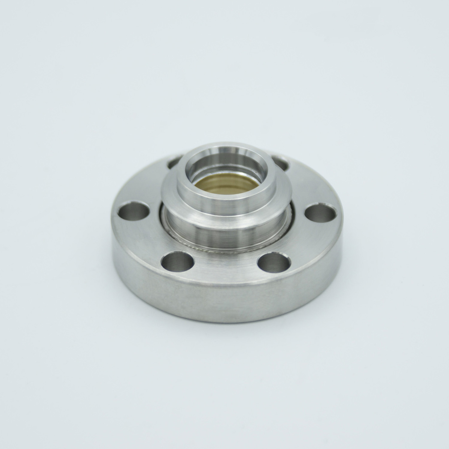 Zinc Selenide viewport (AR coated 8-12 micron), DN19CF non magnetic flange