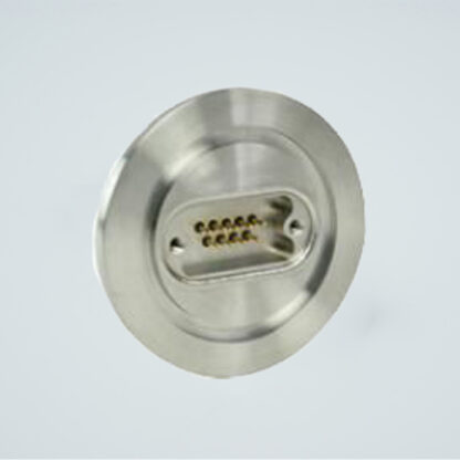 D-type subminiature feedthrough one-9-pin on DN40KF flange