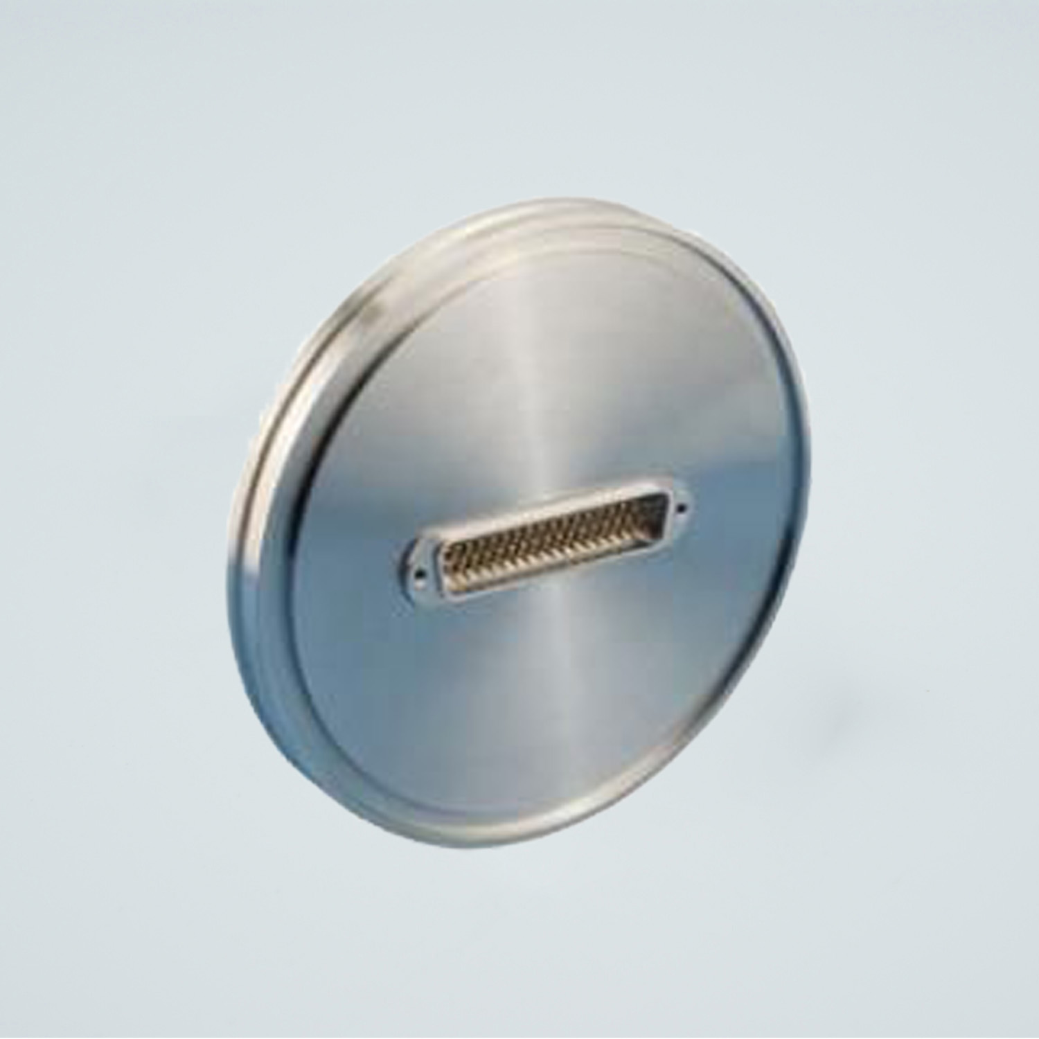 D-type subminiature feedthrough one-50-pin on DN100ISO flange