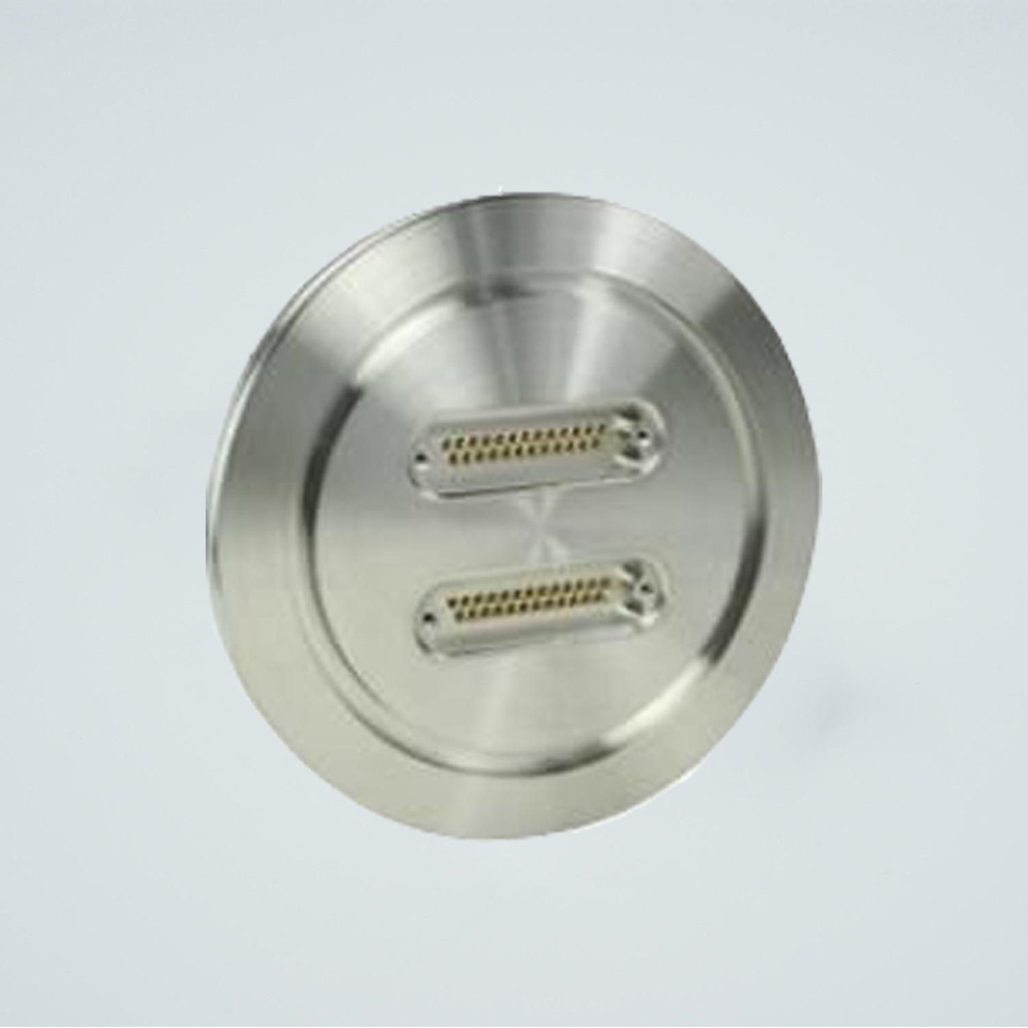 D-type subminiature feedthrough two-25-pin on DN100ISO flange