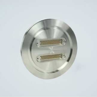 D-type subminiature feedthrough two-50-pin on DN100ISO flange