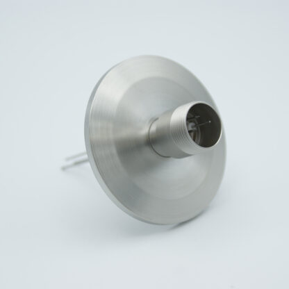 3 pin feedthrough with air-side connector 500Volt / 3,5 Amp, DN40KF flange