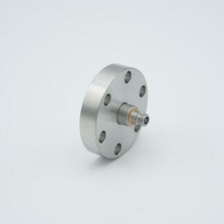Microdot feedthrough 500VDC 2 Amp, DN19CF