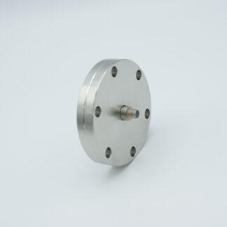 SMA feedthrough single ended 700VDC, 1 Amp, DN40CF