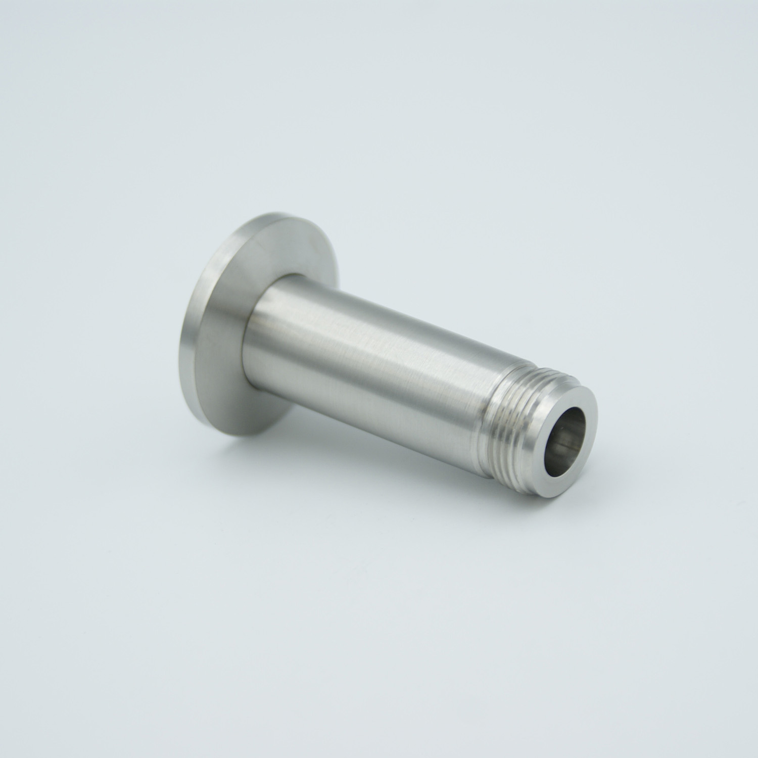 Type-N feedthrough single ended 500VDC, / 3 Amp, air side connector included DN40KF flange