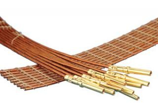 9-wire ribbon cable 100cm long, one side female pins