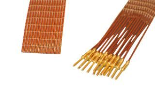 15-wire ribbon cable 100cm long, one side male pins