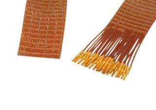 25-wire ribbon cable 100cm long, one side female pins