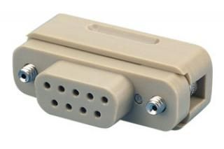 Vacuum side female-connector 50-pin, excluding contacts