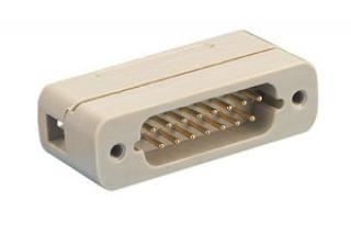 Vacuum side male-connector 15-pin, excluding contacts