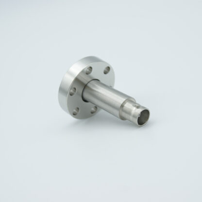 Adapter from single ended BNC to Microdot 500 VDC 2 Amp, DN19CF