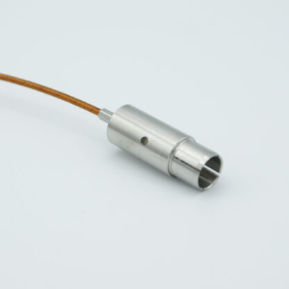 "Grounded shield UHV connector with non-terminated Kapton insulated 39"" wire"