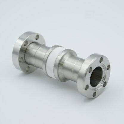High Voltage insulator 5000V, DN19CF flange
