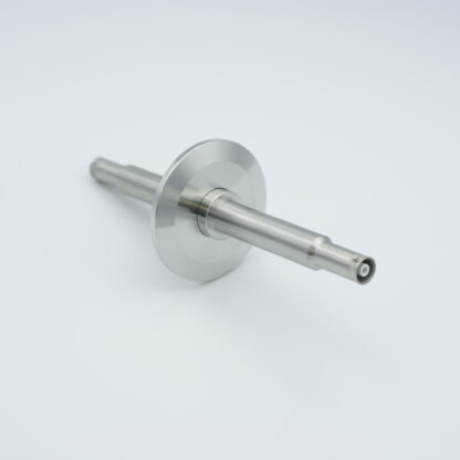 1 of grounded shield, double ended SHV-5 Amp 5000 VDC feedthrough, air side connector included DN40KF