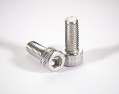 Metric non-vented socket head cap screw DIN912, silver plated M8 x 40mm