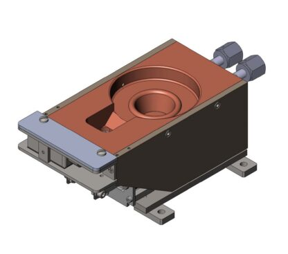 Single pocket 6kW HC-serie e-Gun 40cc flange mounting optional