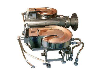 Ten pocket 15kW rotary e-Gun with sweep 75cc